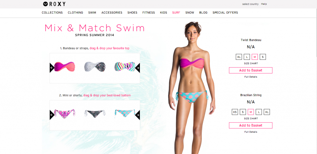 Roxy Mix and Match tienda online