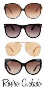 Gafas de sol para rostro ovalado