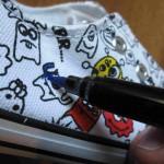 Pintar zapatillas a mano