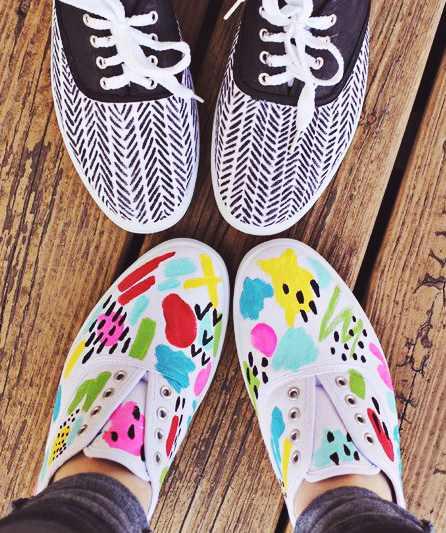 Zapatillas personalizadas paso a paso - Como pintar telas a mano ...