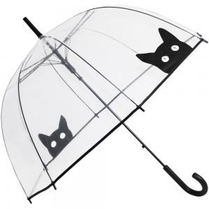 Paraguas transparente gatitos