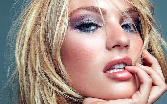 Trucos de belleza Cara perfecta. Maquillaje de ojos y labios perfectos.