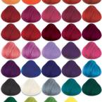 Gama de colores fantasía de tintes semipermanentes de la marca La Riché Directions