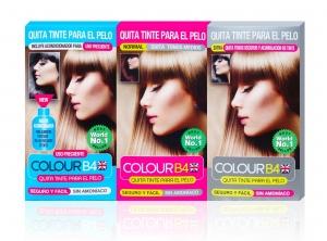 Colour b4 producto para arrastrar tinte del cabello